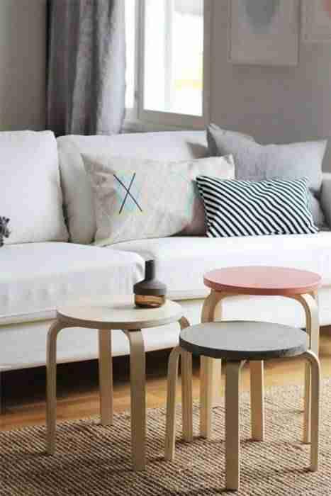 Cómo personalizar el taburete Frosta de Ikea ¡Nueva vida a lo de ...