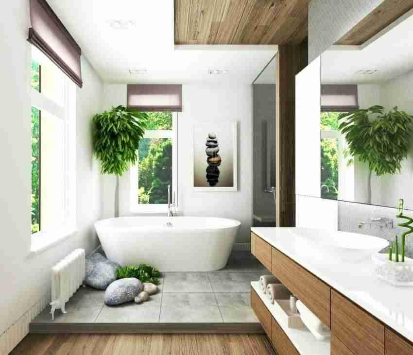 Ideas geniales para tener en casa un cuarto de baño tropical