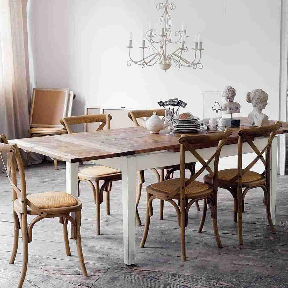 Mesas extensibles para ganar espacio en tu hogar