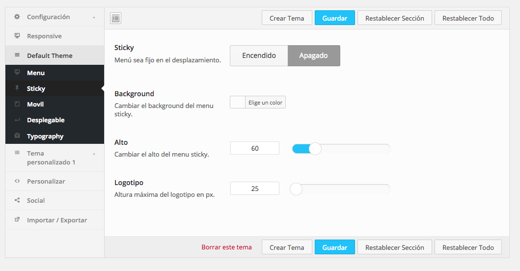 QuadMenu Mega Menú, un plugin ideal para crear menús en WordPress