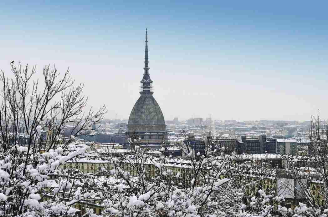 Nieve en Turín