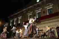El folclore se convirtió en el centro de la Feria alcazareña en la noche del 5 de septiembre 4