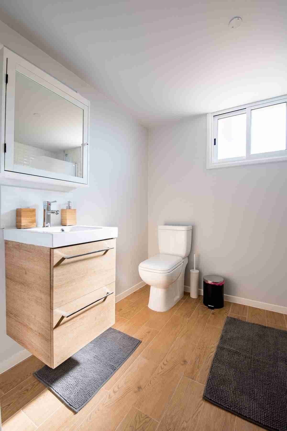 Aparadores espacios para el baño