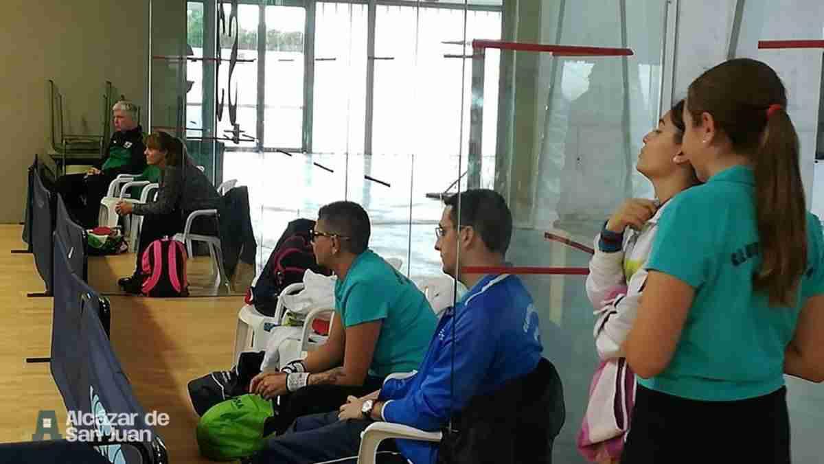 Celebrado el encuentro de 1ª división de tenis de mesa femenino 2