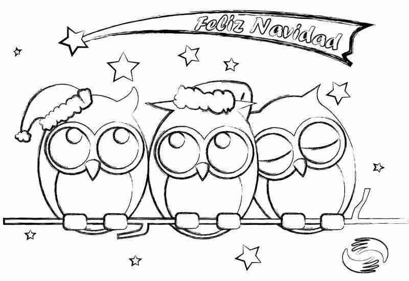 Dibujos De Navidad Muy Bonitos.Dibujos De Navidad Para Imprimir Y Colorear Con Ninos