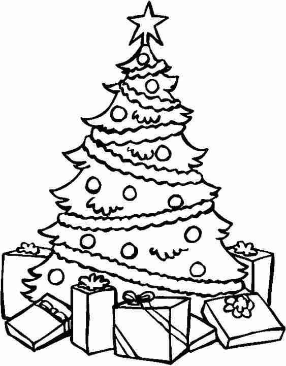 dibujos de Navidad VI