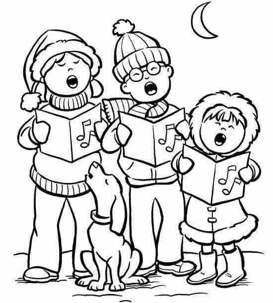 Dibujos De Navidad Para Imprimir Y Colorear Con Ninos