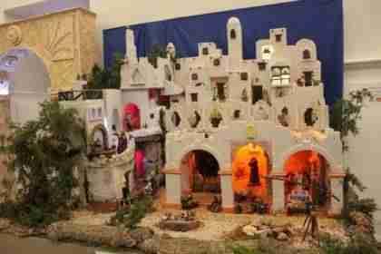 """El tradicional """"Belén del Agua"""" abierto para visita en Alcázar de San Juan 1"""
