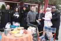 Concentración de corros de mesas camilla en el Carnavalcázar 2018 3