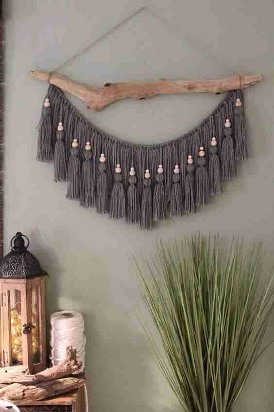 decorar paredes con macrame VI