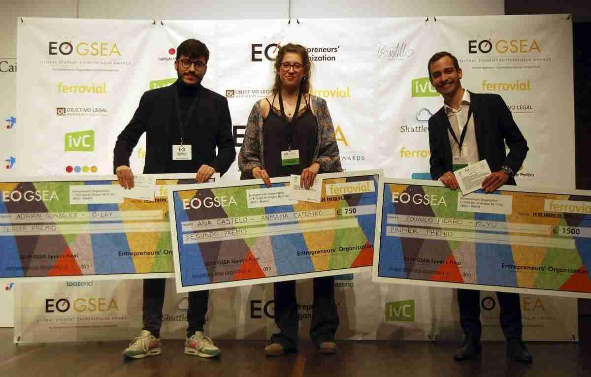 KUVU, ganador del Global Student Entrepreneur Awards 2019 en España 1