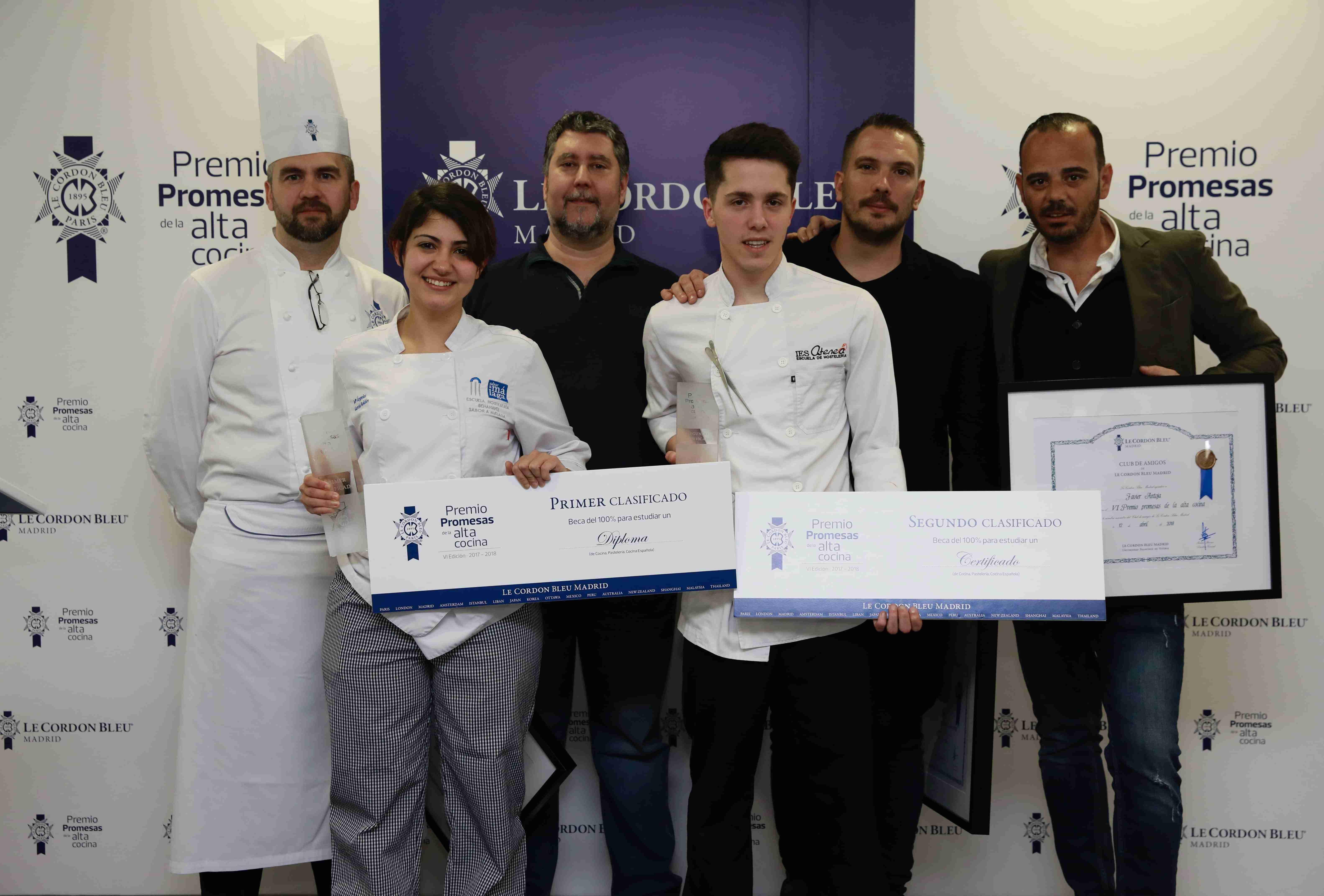 Dos estudiantes de Ciudad Real en el VII Premio Promesas de la Alta Cocina de Le Cordon Bleu Madrid 1