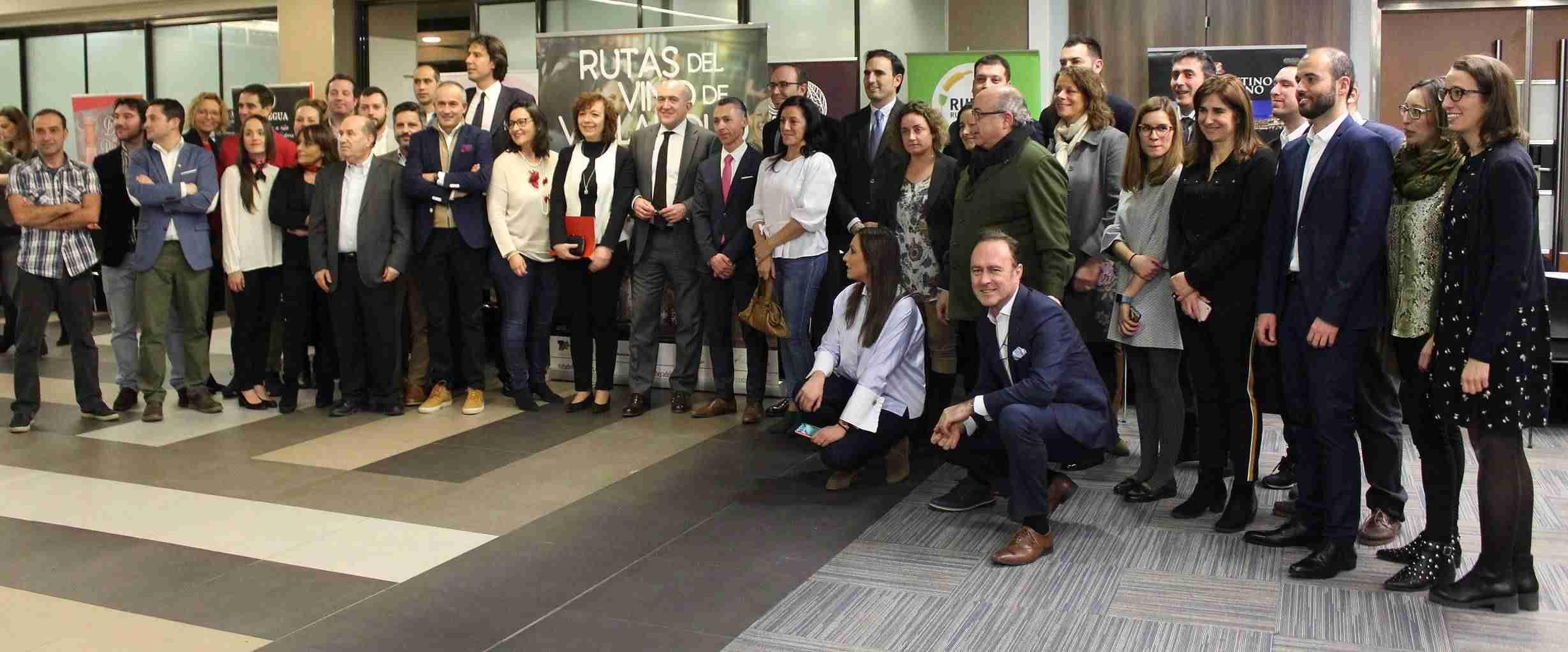 Rosa Melchor participa en Madrid en la presentación de la oferta enoturística de la provincia de Valladolid 1