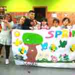 Los niños y niñas de la Pequeteca y de la Ludoteca plantan cerca de un centenar de encinas 4