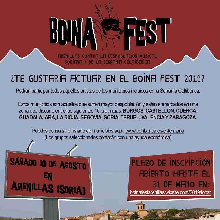 El primer festival contra la despoblación, Boina Fest, crece en su 5ª edición convocando a artistas de las provincias más despobladas de Castilla-La Mancha 1