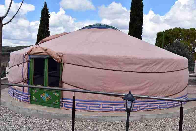 campamentos indio y mongol