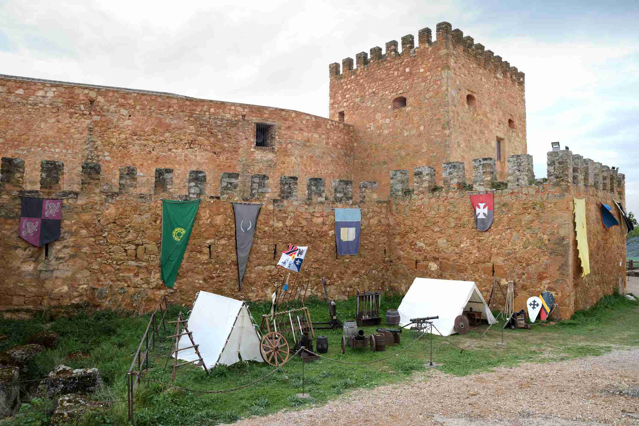 """La organización califica de """"éxito"""" el I Mercadillo Medieval 'Peñarroya del Alto Guadiana' 12"""