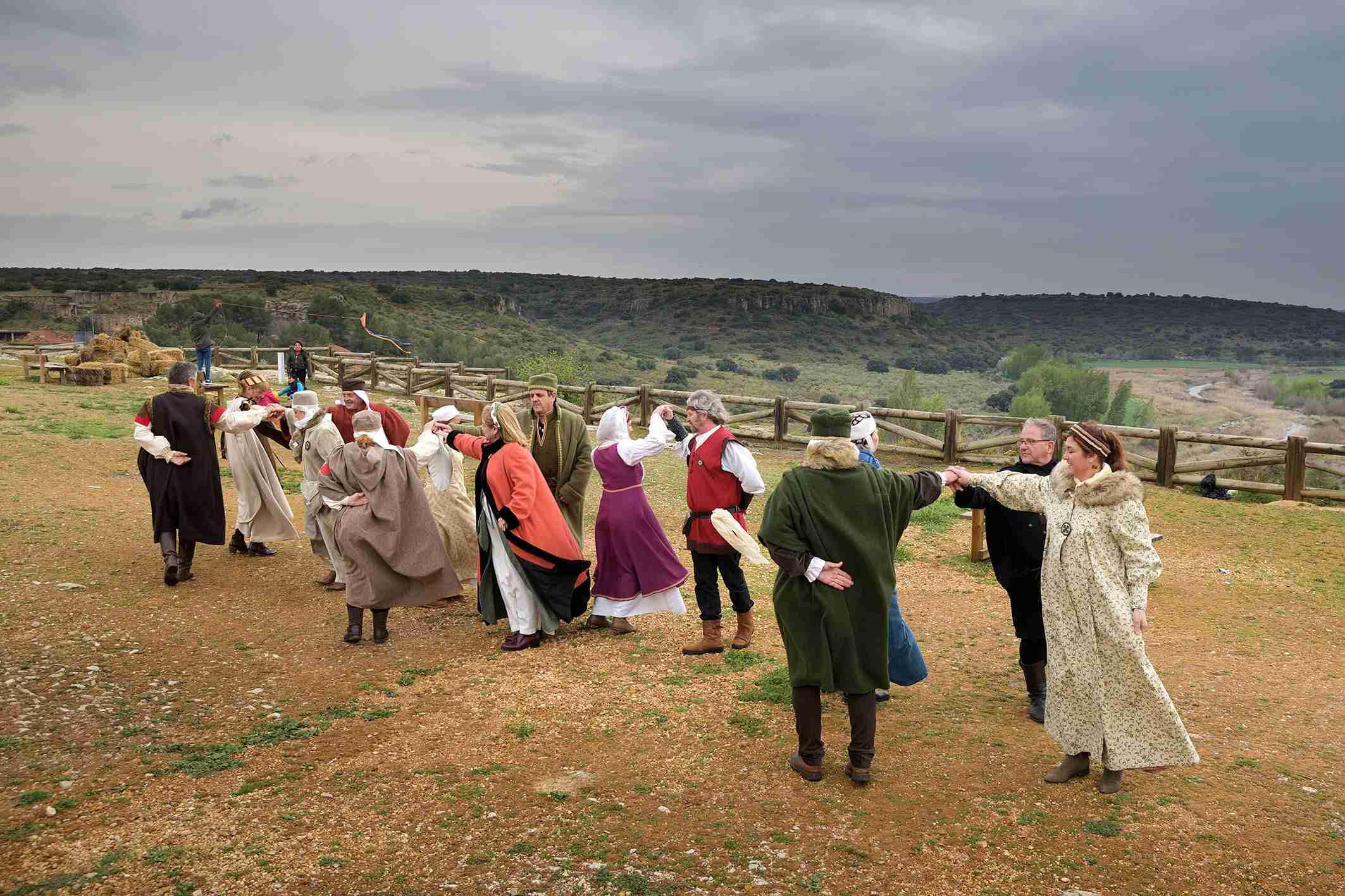 """La organización califica de """"éxito"""" el I Mercadillo Medieval 'Peñarroya del Alto Guadiana' 4"""