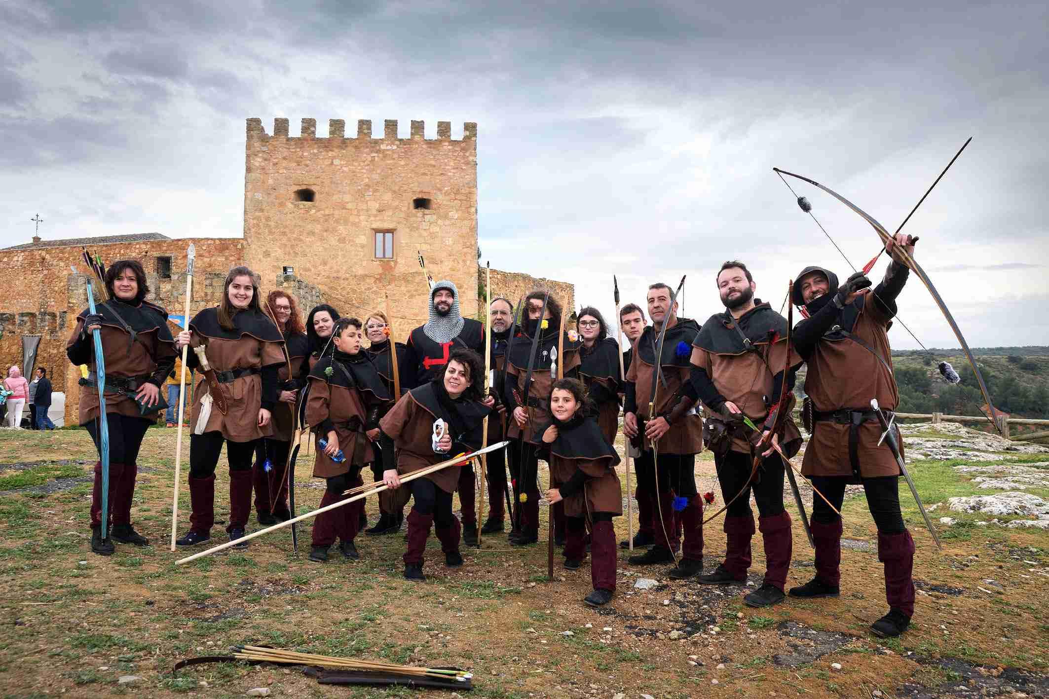 """La organización califica de """"éxito"""" el I Mercadillo Medieval 'Peñarroya del Alto Guadiana' 6"""