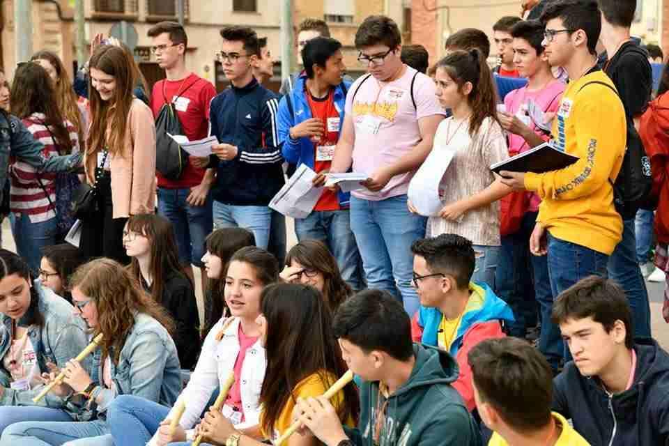 """Alrededor de 400 alumnas y alumnos participan hoy en Toledo de la III Jornada """"Los profes y sus orquestas' con actuaciones por la ciudad 1"""