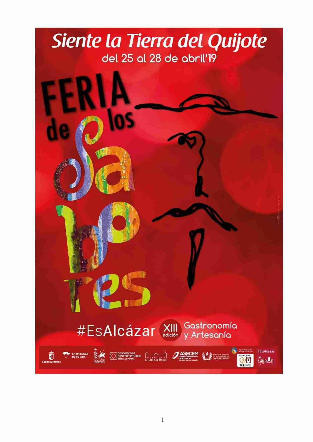 Presentada la programación de la Feria de los Sabores de la Tierra del Quijote 1