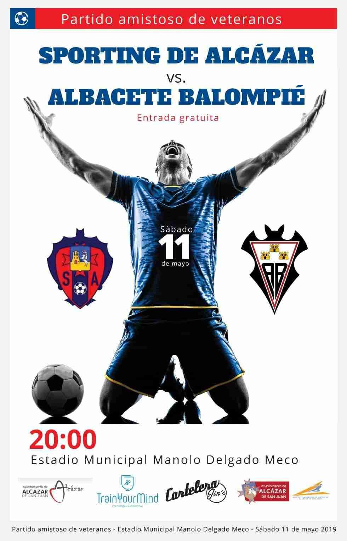El Sporting de veteranos se estrena en Alcázar ante el Alba 1