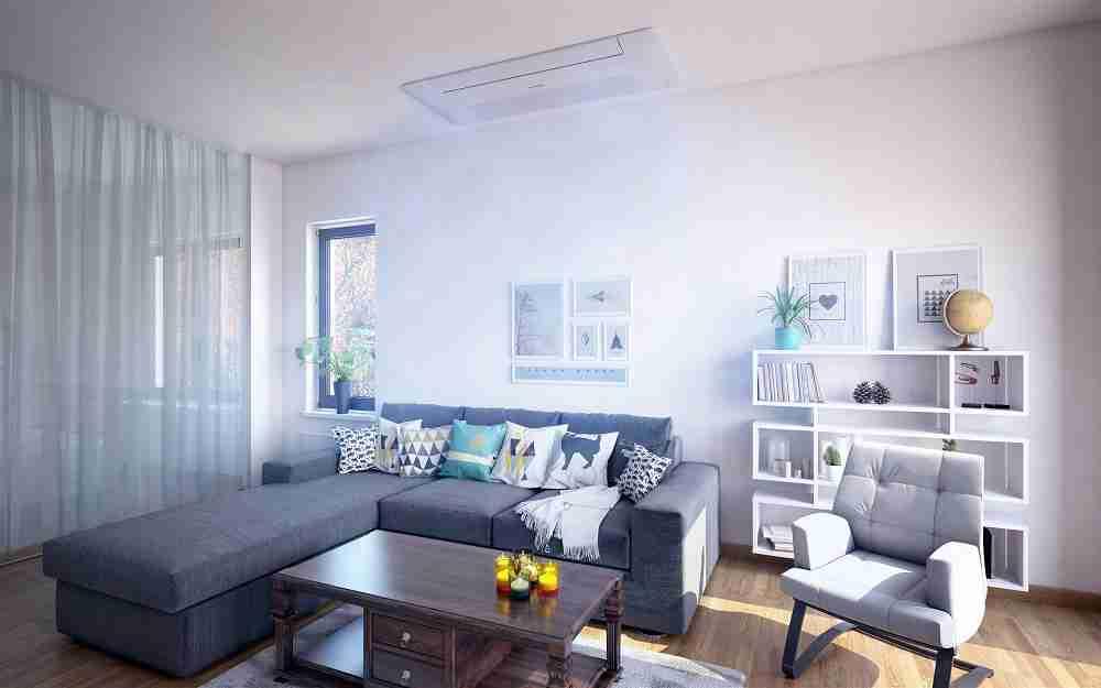 Cómo ocultar el aparato del aire acondicionado en tu hogar 29