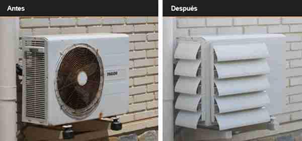 Cómo ocultar el aparato del aire acondicionado en tu hogar 19