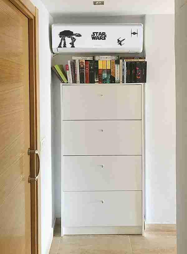 Cómo ocultar el aparato del aire acondicionado en tu hogar 25