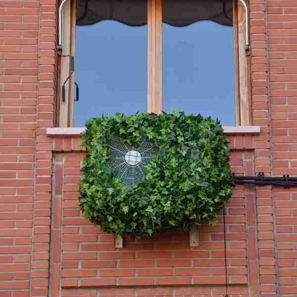 Cómo ocultar el aparato del aire acondicionado en tu hogar 18