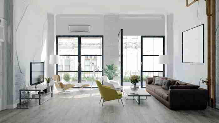 Cómo ocultar el aparato del aire acondicionado en tu hogar 26
