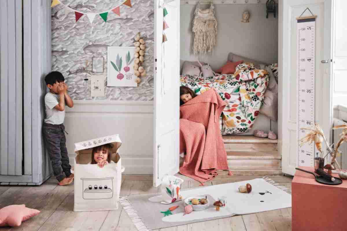 Cestas de H&M para dormitorios infantiles de orden y diversión 4