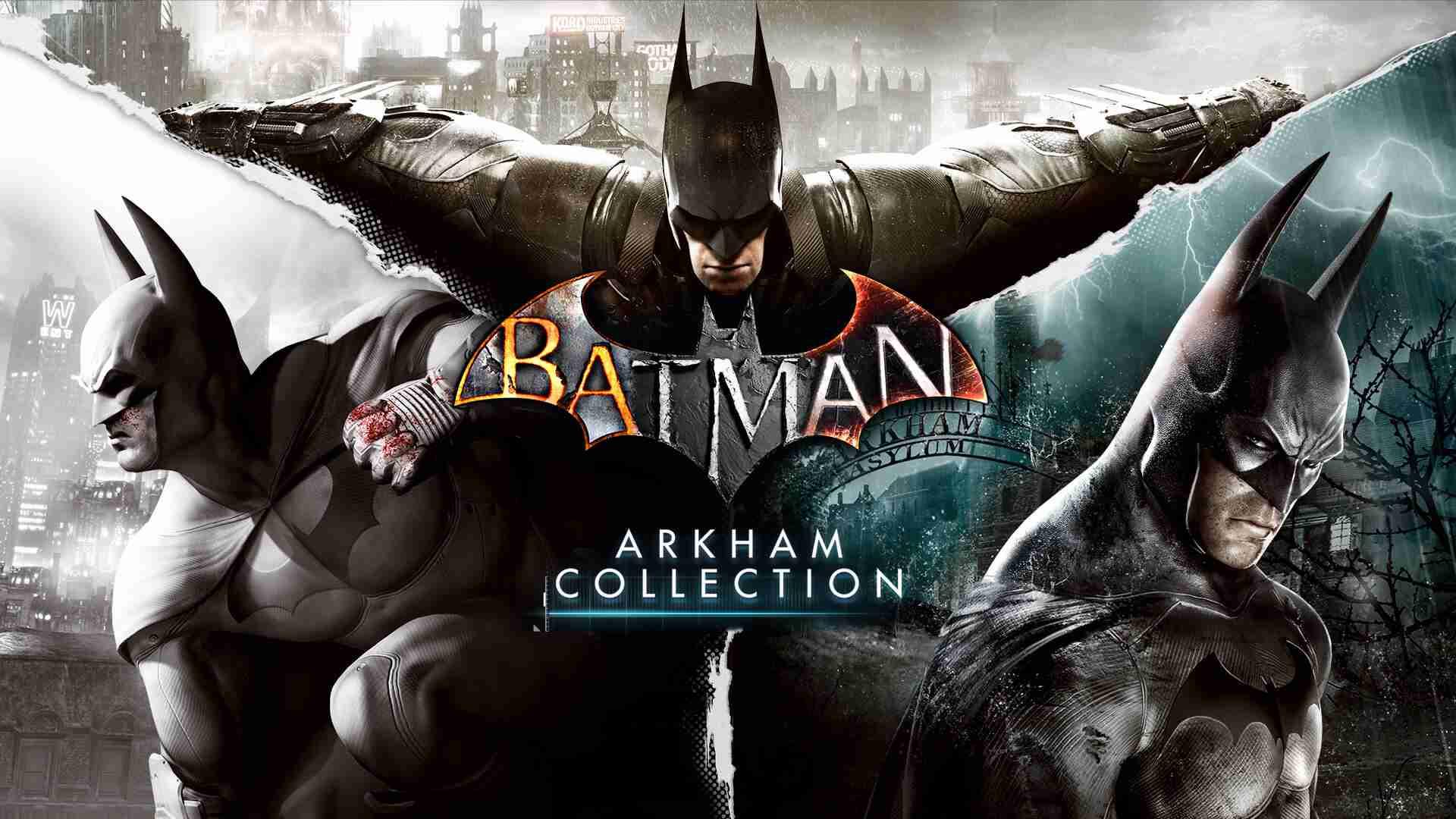 trilogía juegos batman epic games