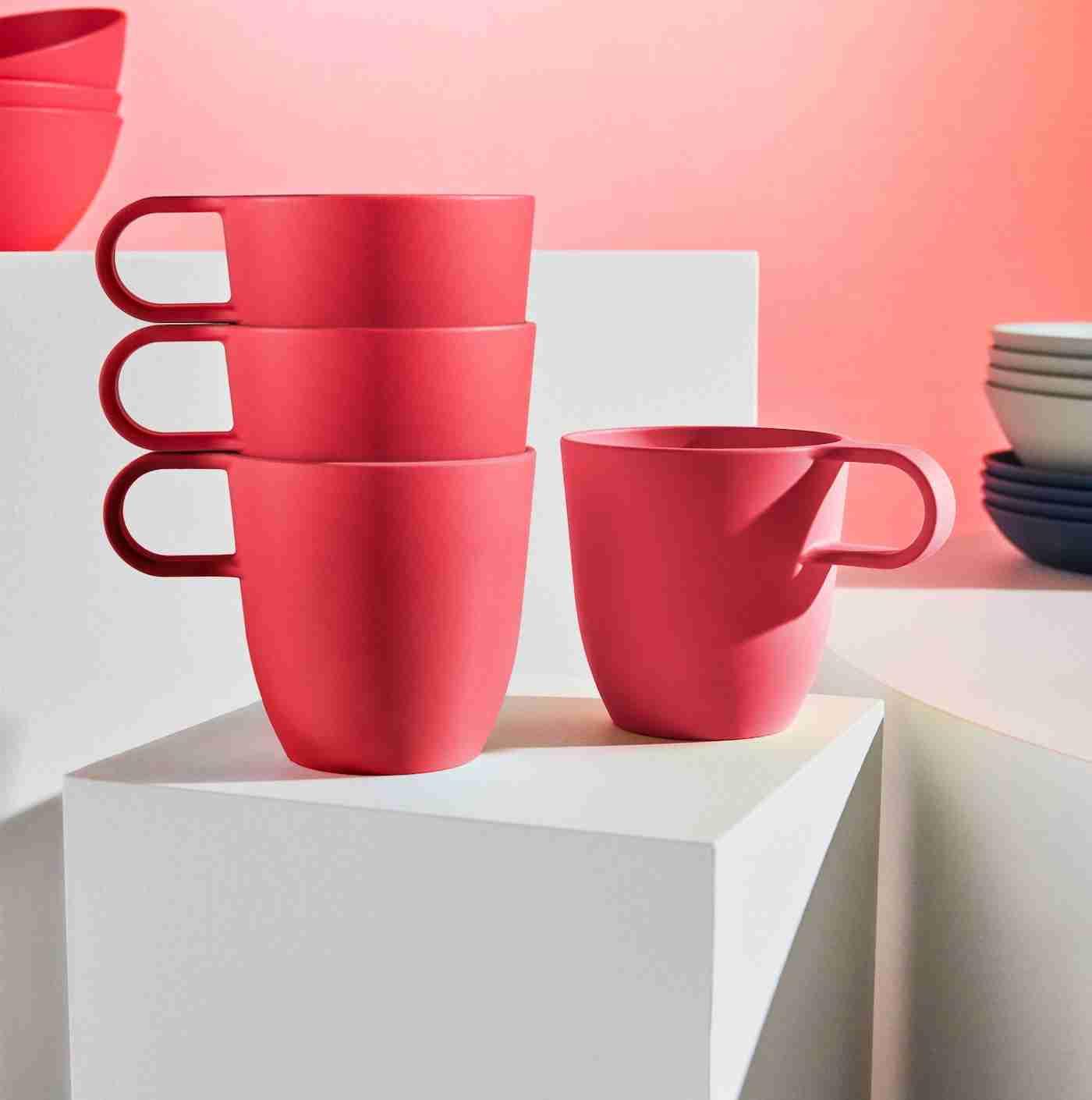 """La nueva vajilla de Ikea """"Talrika"""" te va a encantar con su colorido 3"""