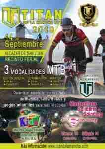 Más de 2.600 ciclistas se sumarán a la décima edición de la Titán de La Mancha BTT en Alcázar de San Juan 1