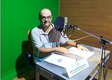 La Sociedad Cervantina de Alcázar publica gratis su primer audiolibro 1