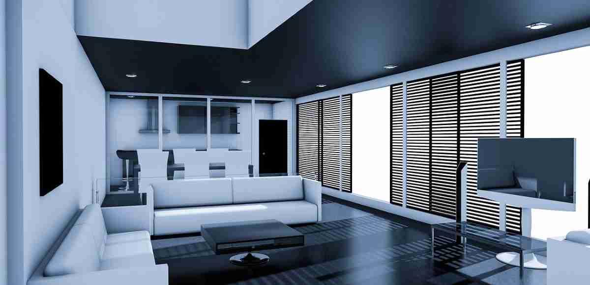 Decorar un salón con color blanco elegante y actual 4