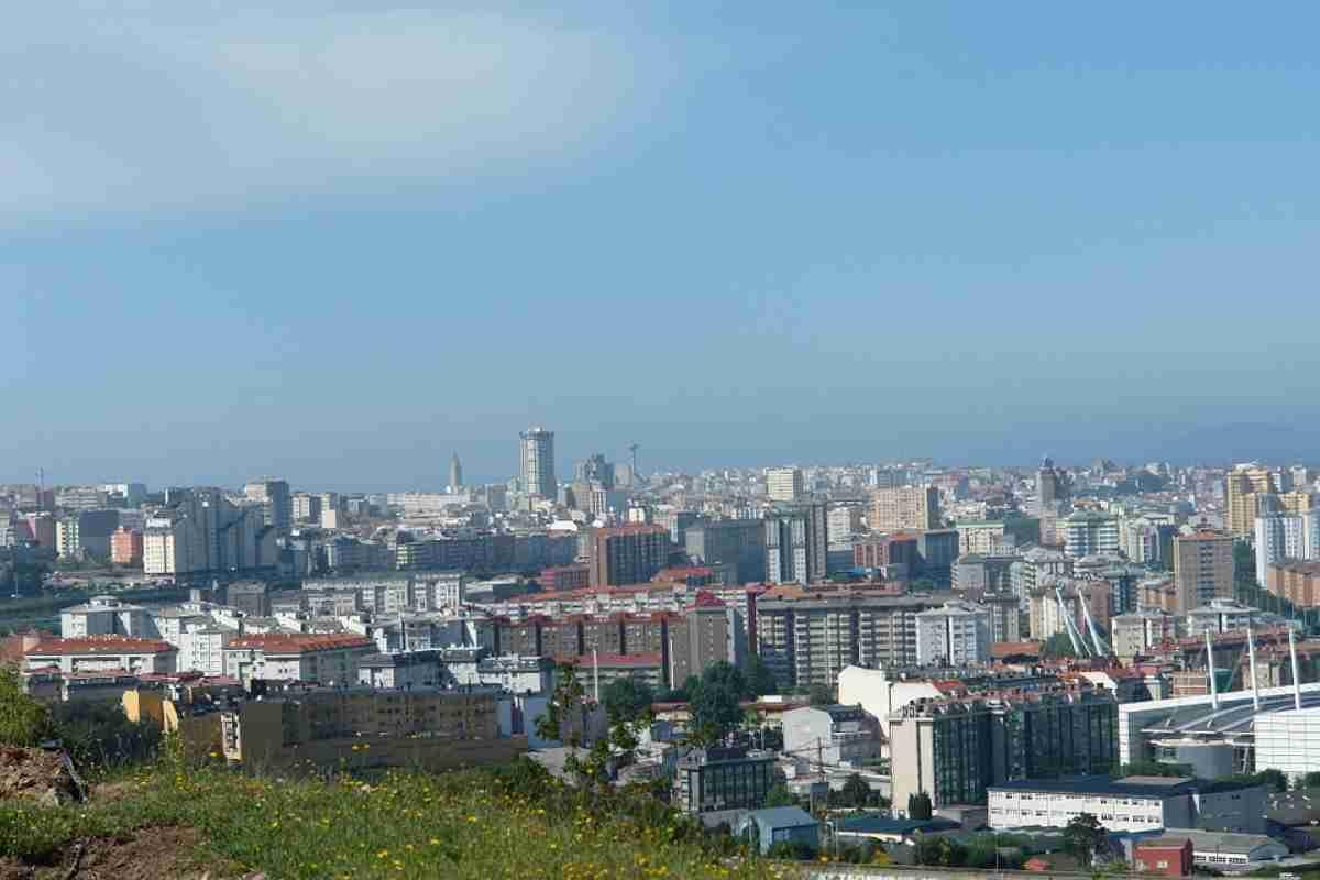 La Coruña una preciosa ciudad en Galicia España 1