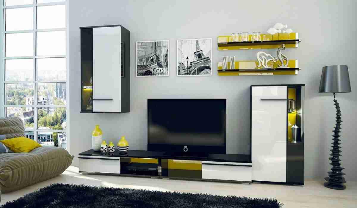 Decorar un salón con color blanco elegante y actual 1