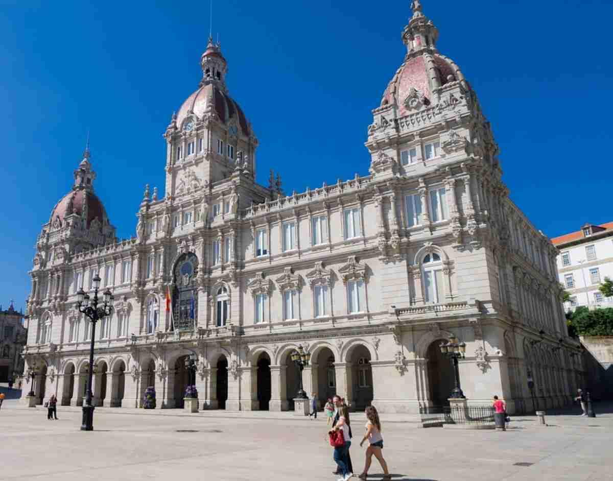 La Coruña una preciosa ciudad en Galicia España 2