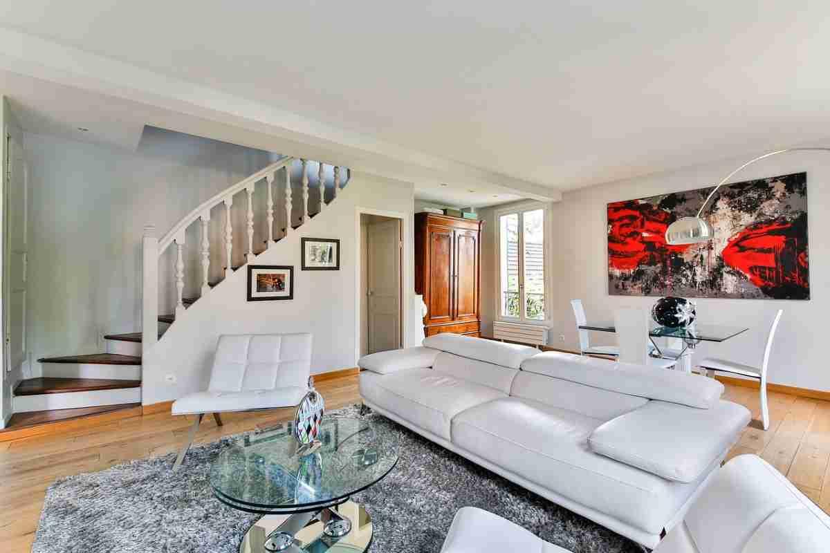 Decorar un salón con color blanco elegante y actual 2