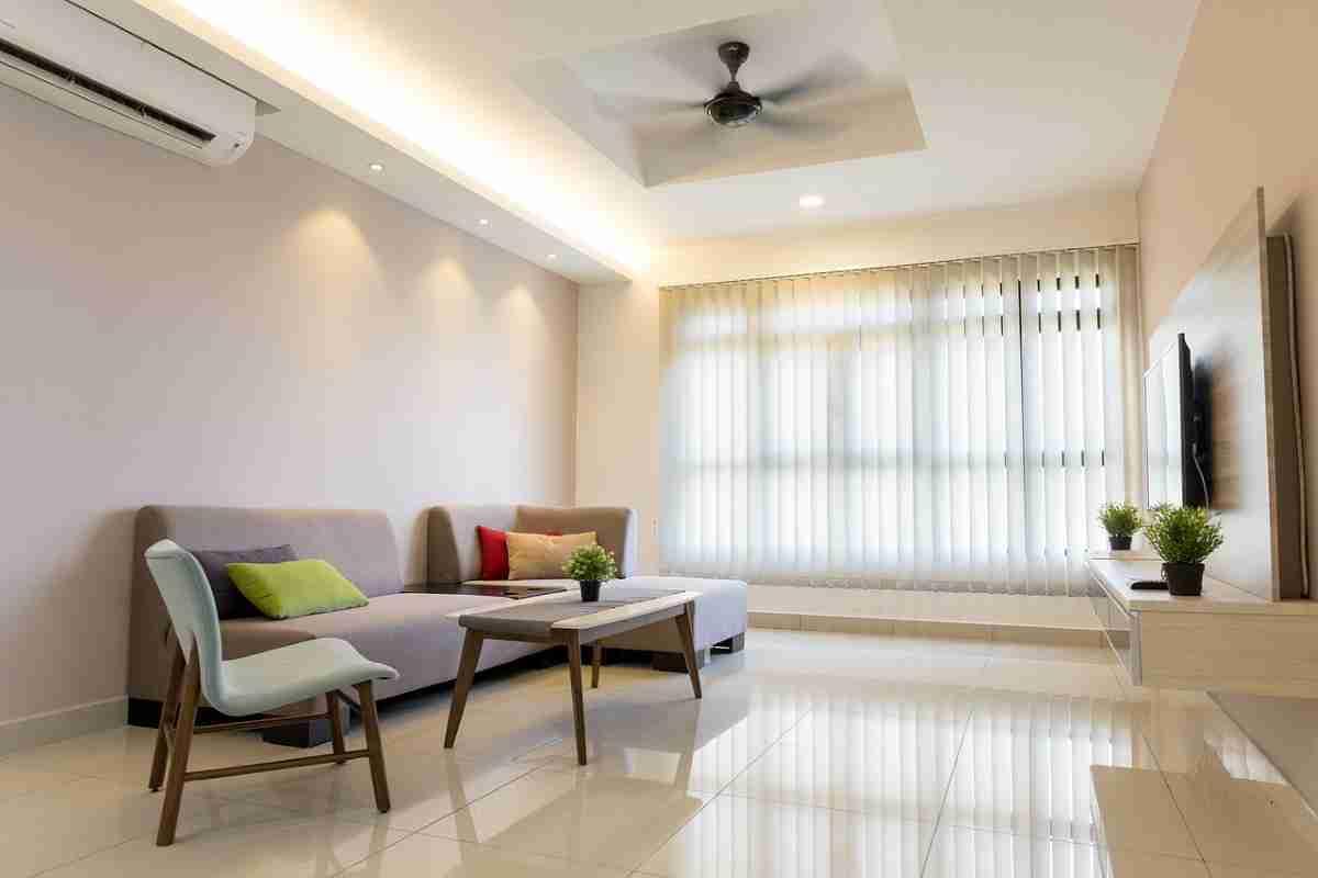 Decorar un salón con color blanco elegante y actual 3