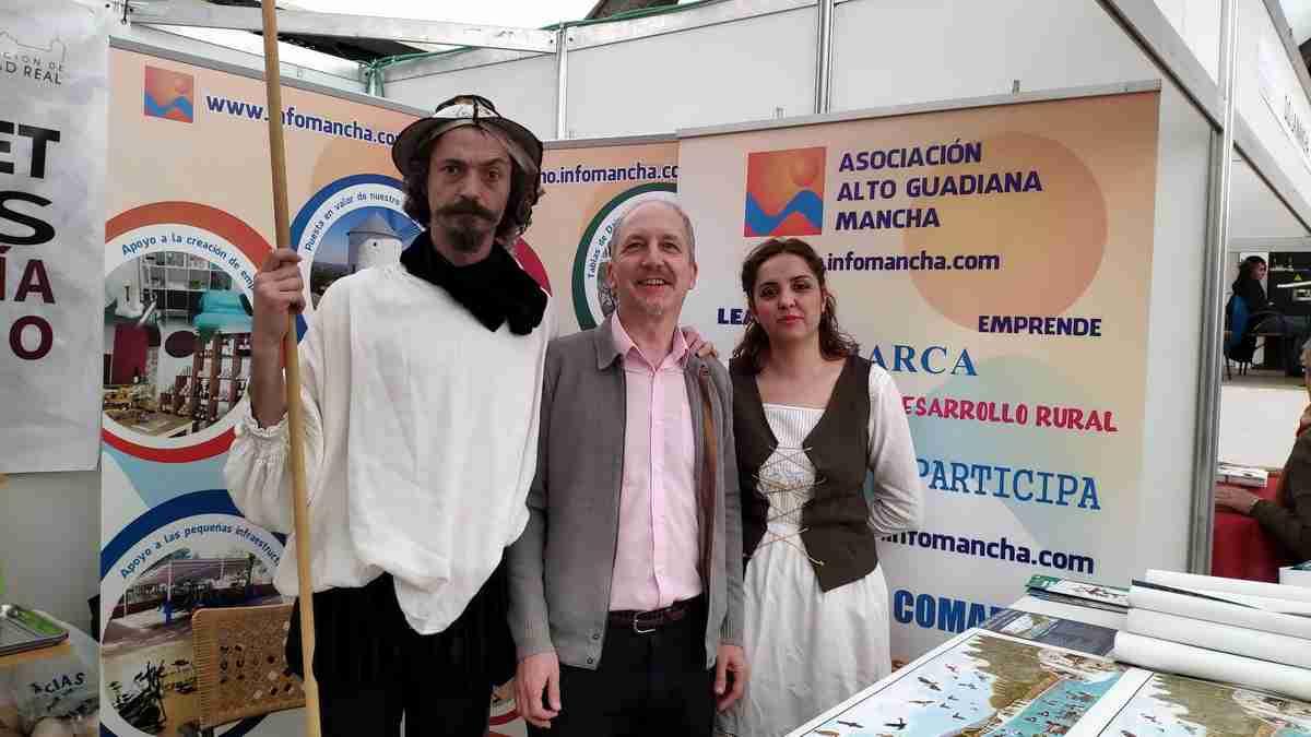 Alto Guadiana Mancha participó en La Solana de la feria Sabores del Quijote, centrada en el cordero, las gachas y el azafrán 1