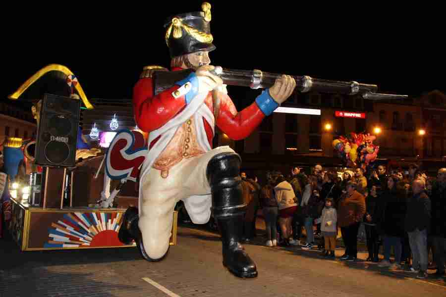 El Carnaval alcazareño luce en todo su esplendor a pesar de las inclemencias del tiempo 12