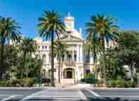 ciudad de malaga andalucia espana