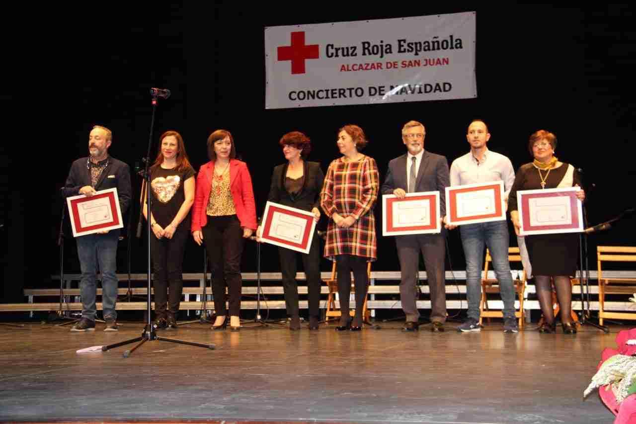 Tradicional Concierto de Navidad de Cruz Roja en Alcázar 1