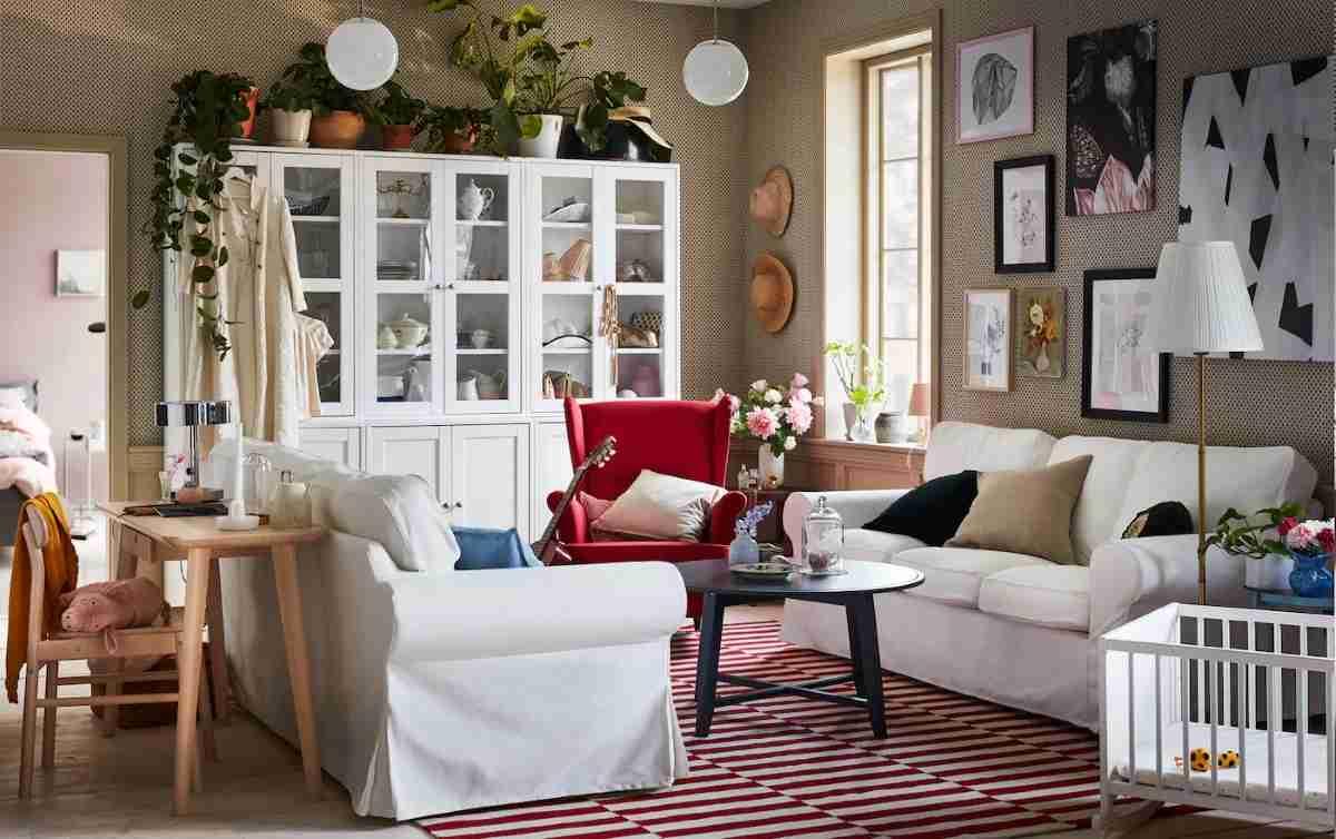 decorar un salón con ikea