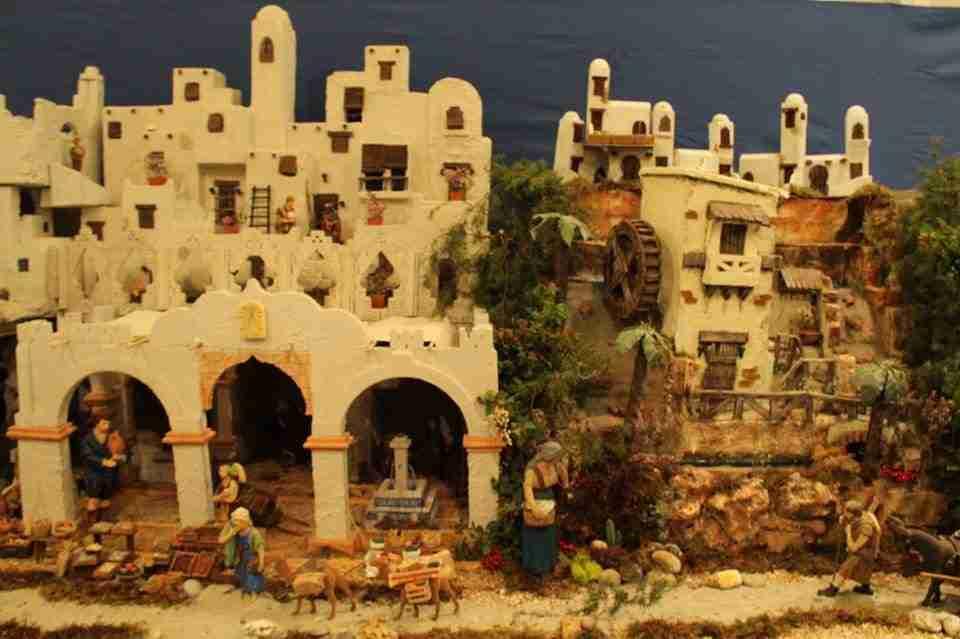 Alcázar muestra su belén monumental inspirado en la arquitectura histórica romana y árabe 1