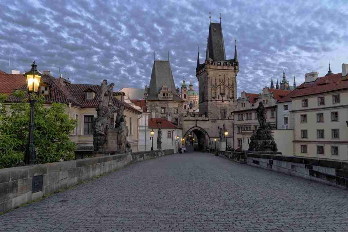 barrios del centro historico de praga