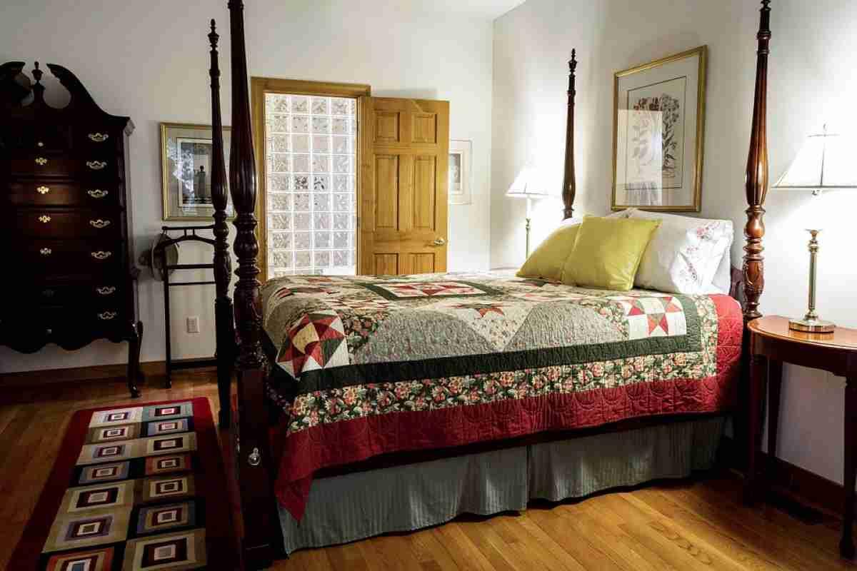 alfombra en el dormitorio
